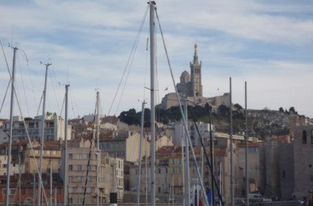 Marseille vue d'en haut