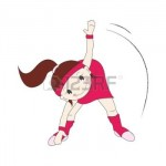 15427704-fille-va-dans-des-sports