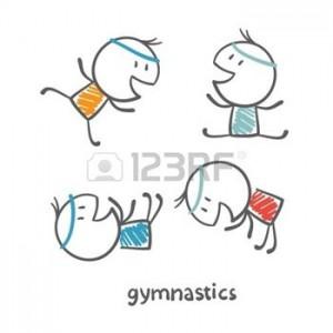 36067946-les-personnes-engag-es-dans-la-gymnastique-illustration