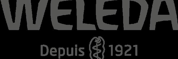 FR RGB Weleda Logo 2018 - grey -scr